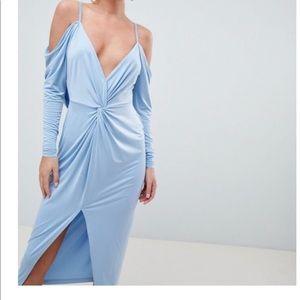 ASOS Slinky Kimono Midi Dress